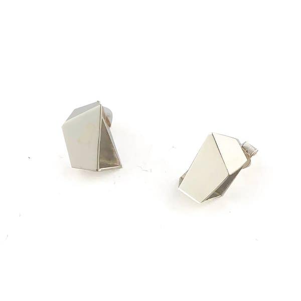 boucles d'oreilles archi mini argent