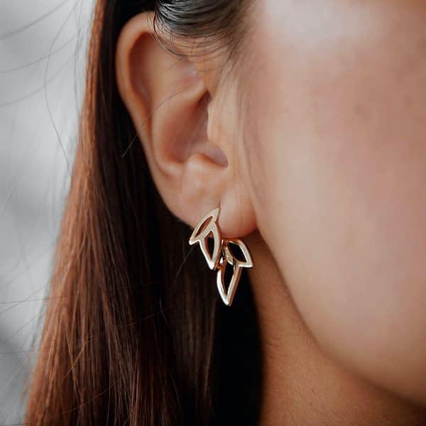 boucles d'oreilles epi B
