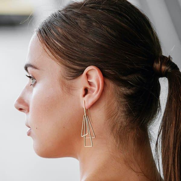 boucles d'oreilles torii