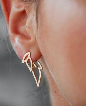 boucles d'oreilles epi A